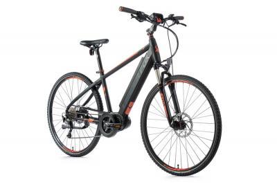 elektrobicykle---bicykel-s-elektropohonom-leader-fox-bend-28--36v/16-ah-20-5---cierna-matna-/-oranzova