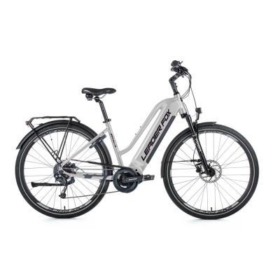 elektrobicykel---bicykel-s-elektropohonom-leader-fox-lucas-damsky-28-,-36v/20ah;-720wh-16-5---strieborna-matna