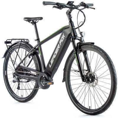 elektrobicykle---bicykel-s-elektropohonom-leader-fox-sandy-pansky-28--2021--36v-15-ah--540wh-20-5---cierna-matna--zelena